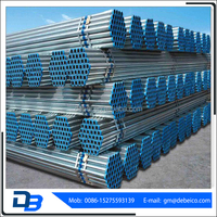 Alibaba China Supplier Galvanized Round Steel Iron Pipe