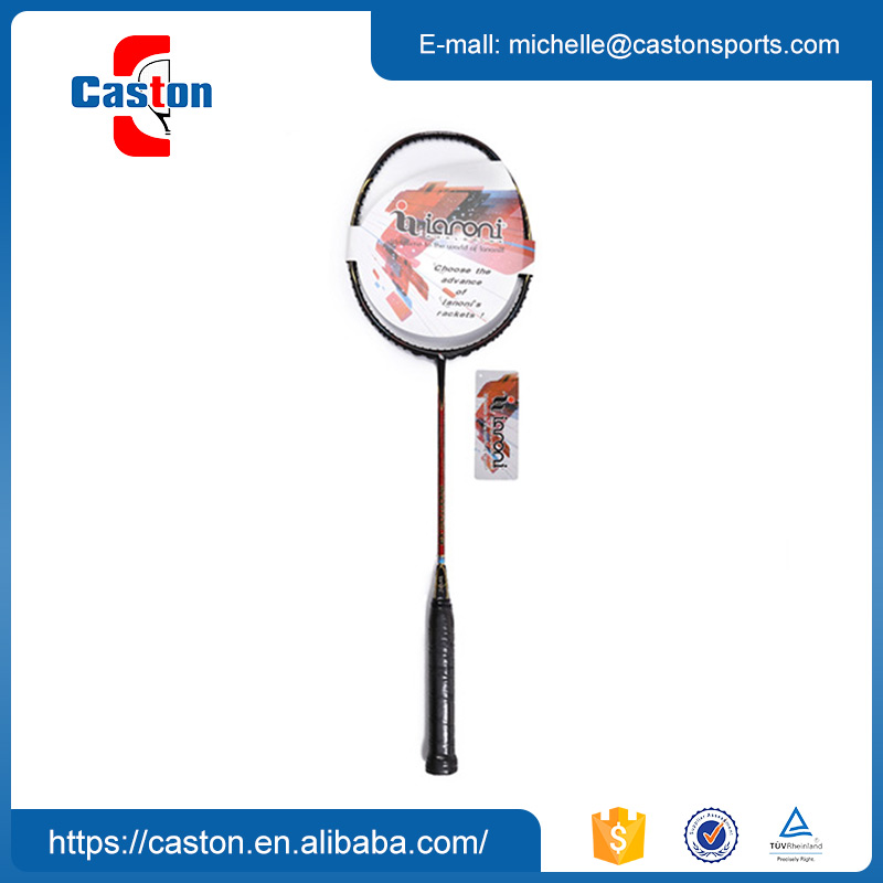 Good Quality Full Carbon Fiber Hot Sale Custom Badminton Racket