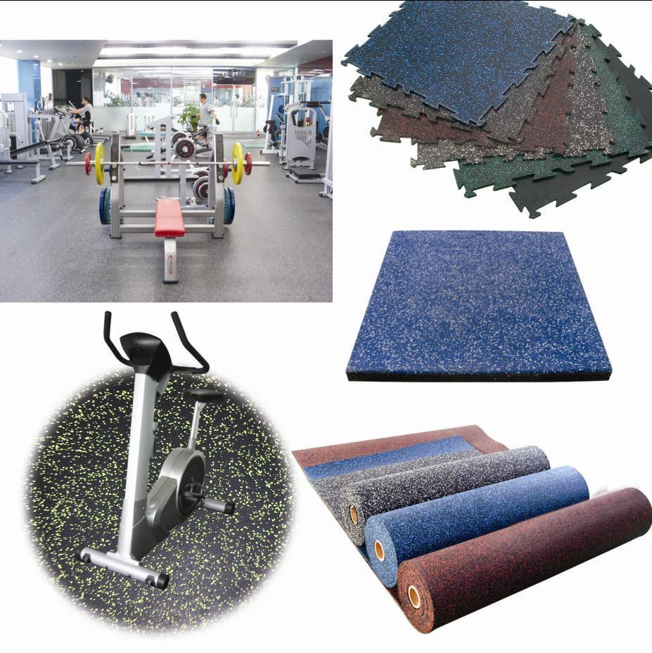 FAPRE Sport Rubber gym mats flooring,Rubber gym sheeting,Sport Gym Flooring Equipment for home gyms