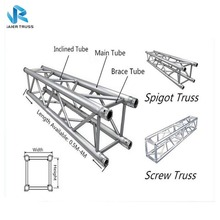Out door concert ,out door /in door event aluminum Stage roof Lighting Truss compatible with globle truss