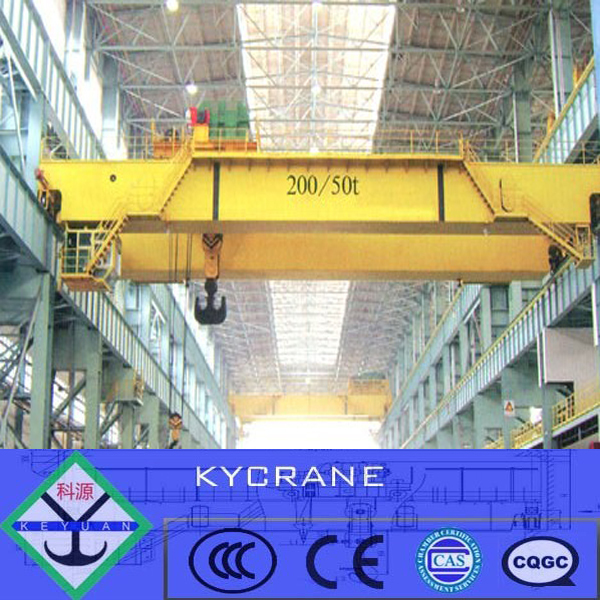 Double beam warehouse light weight low clearance small overhead crane 5 ton for sale