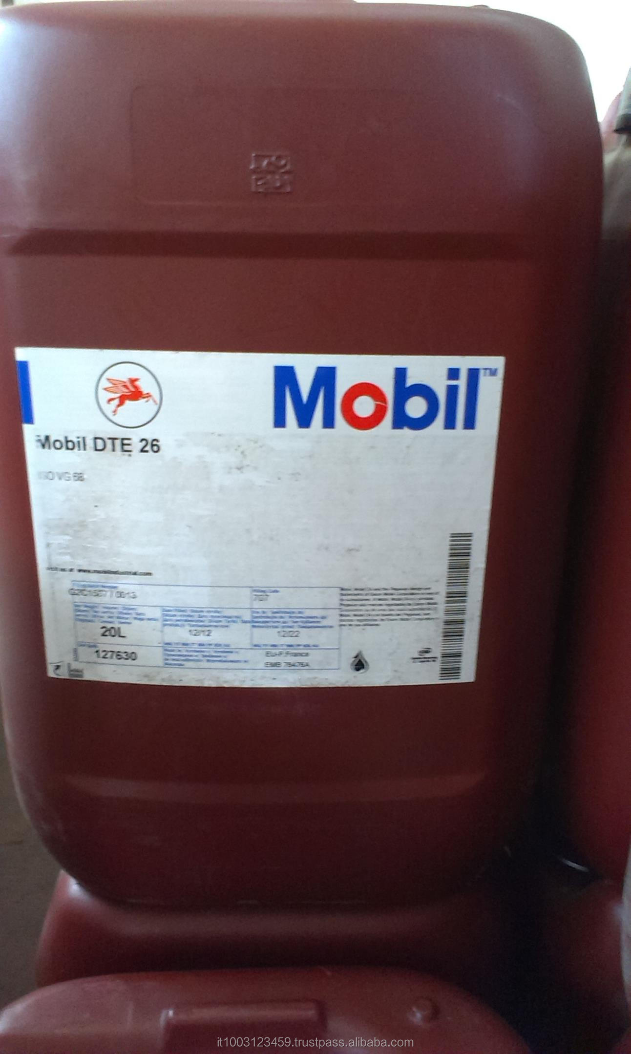 Mobil DTE 26 Lubricant , 20 liter canister