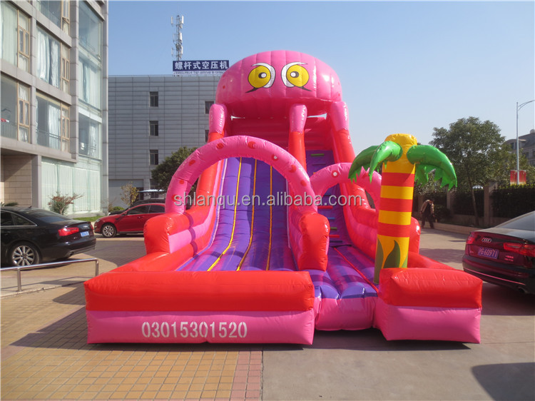 octopus slide giant inflatable water slide for adult