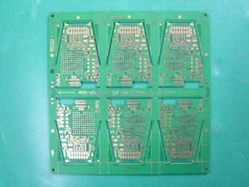 Immersion gold fr4 metal detector pcb circuit board
