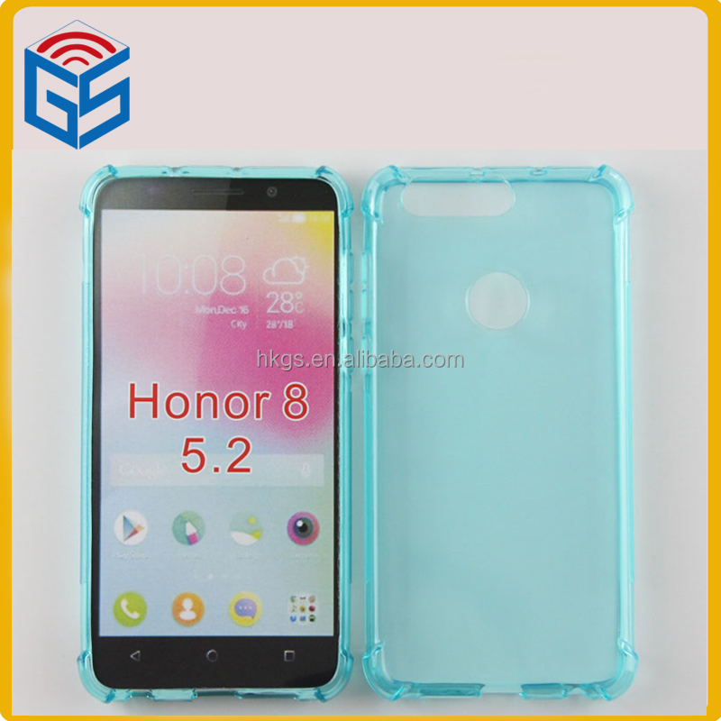 Shockproof Transparent Cover For Huawei Honor 8 Mobile Tpu Case Price List