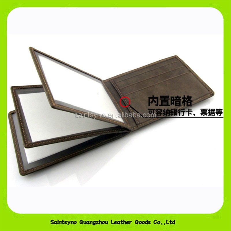 Durable Leather material driving license holder card 15053