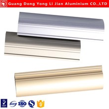 Natural anodized aluminum profile for kitchen cabinet and aluminum alloy window