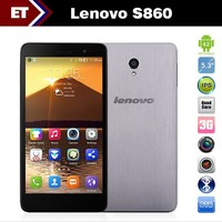 Cheap mobile phone Lenovo S860 Android Quad Core MTK6582 5.3'' IPS 1GB RAM 16GB ROM 1280x720 celular 3G high quality hand phone