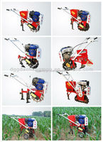 hand operated farm equipment mini tiller cultivator