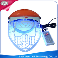 YYR led skin rejuvenation mask blue led light eyes mask