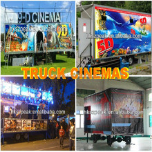 Fast Roller Coaster 4d Movie Film 5d Cinema Truck