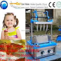 lower energy consumption rolled sugar cone baking machine