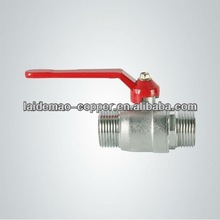 brass ball valve with long stem