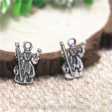 Zeus god Charms Antique Tibetan silver Zeus charm pendants 28x11mm