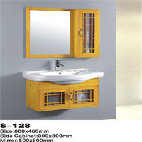 High quality classic solid wood bathroom space saver cabinet
