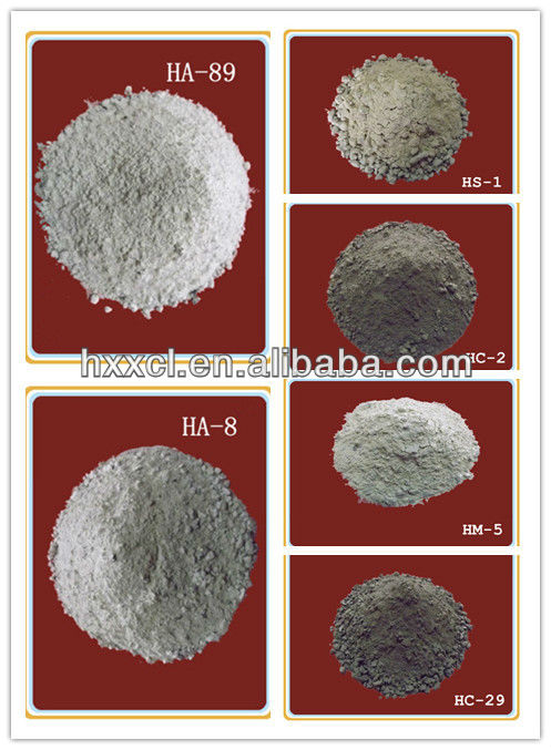For induction furnace refractory working lining unshaped acidic basic neutral refractory ramming mass