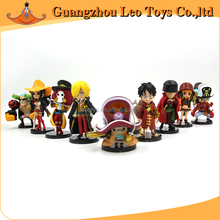 Japanese Anime Action One Piece Toys Plastic Mini Figures