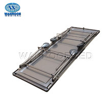 GA204 Mortuary Folding Operating Table For Embalming