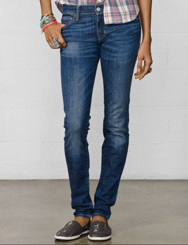 Women stone washed Skinny Jeans