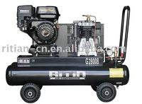 gasoline engine driven air compressor