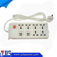 2015 Newly Developed Current 10-15A Electrical Switch Socket