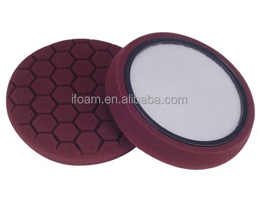 6.5inch HEX-logic Car Foam Polishing Pad Self-centered Ring Buffing Pad