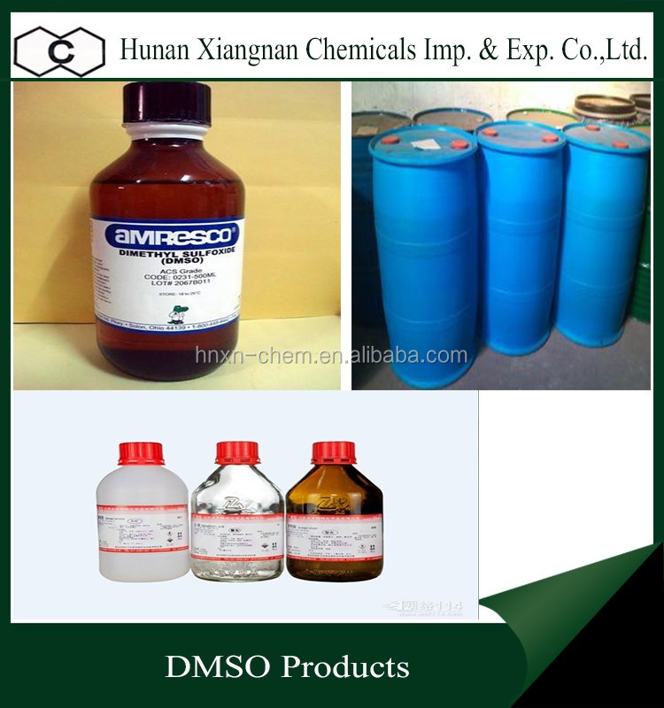 2017 alibaba hot selling pharmaceutical intermediate chemicals dimethyl sulfoxide