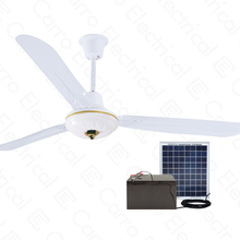Hot sell in Pakistan 12v 56inch AC/DC decorative best ceiling fan with brushless motor