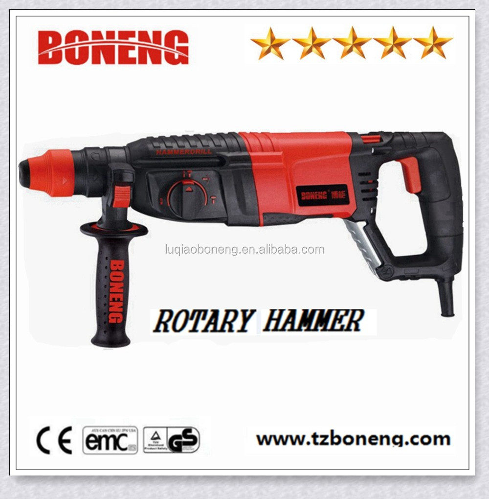 China manufacturer power tools 26mm electric hammer drill