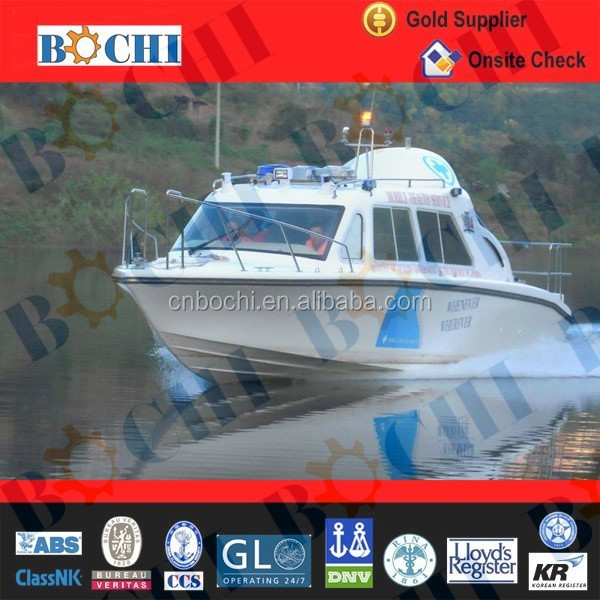 CE Certificate 30 Feet River Pilot Boat for Sale