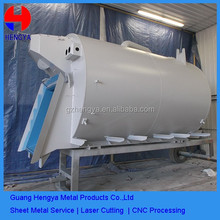 Heavy type canbon steel power coated sheet metal fabrication in Guangzhou