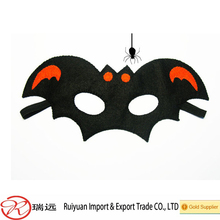 Classical Pumpkin And Bat Design Halloween Felt Mask From China Supplier