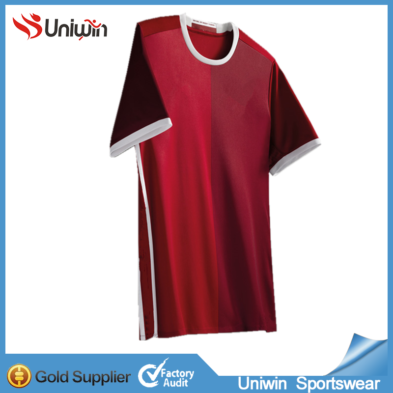 Latest design custom make your own jerey no logo soccer jersey