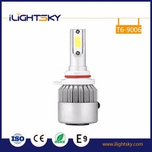 Hot products 2017 high power h7 h4 9005 9006 h11 bulbs 12 volt bulb spot light for car led headlight 9006 with Import chip COB