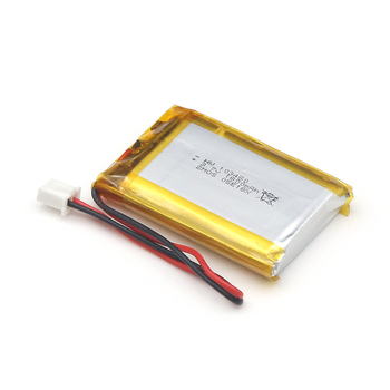 Made In China Quality Assured 3.7V Customized Soft Pack Battery With Connector