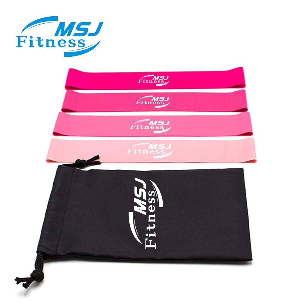 MSJ <strong>Fitness</strong> Exercise Resistance Bands Sets Printed With Your Logo/branded <strong>Fitness</strong> Promotional Products