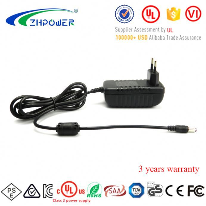 USA standard 12V 24V ac dc power adapter 1A 0.5A led strip power supply