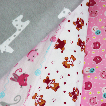 custom flannel fabric printing for pajamas