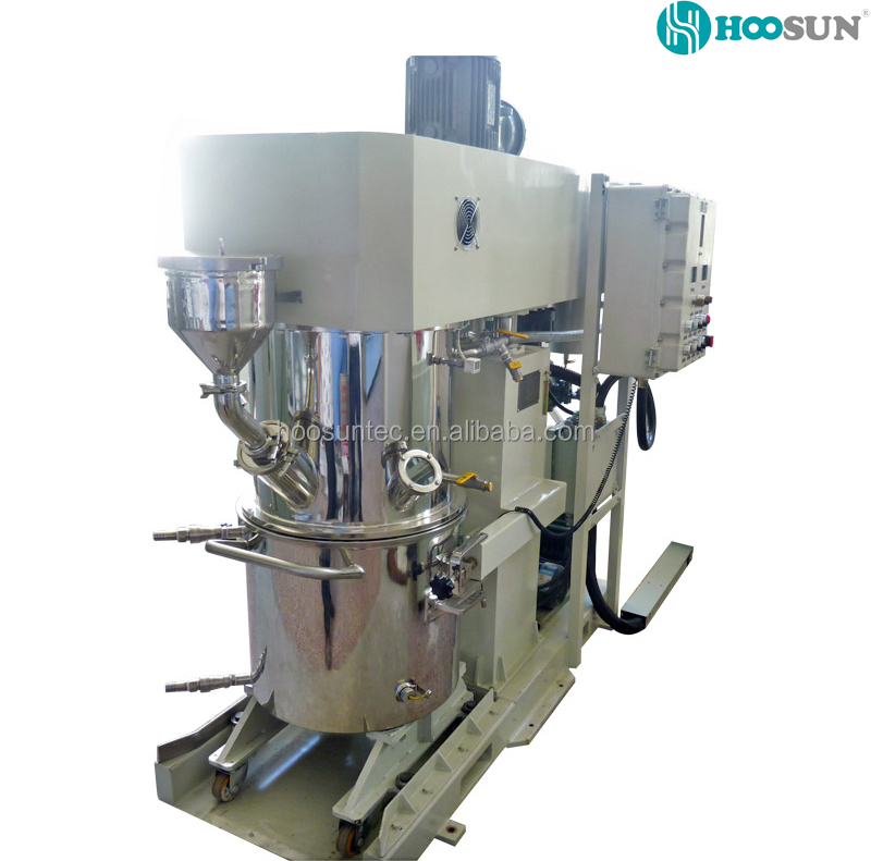 Hot sale Adhesive Claw Baldes Double Planetary Mixer