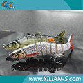 New design series plastic fishing lures kokanee salmon 3d eyes for fishing lures