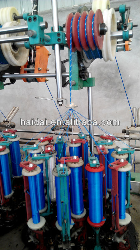 48 Spindles Cord Making Machine for 1mm braided rope