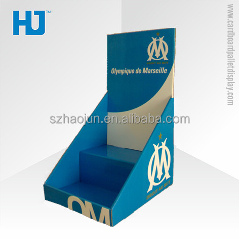 Customized Design Pos Customer Sport Bottle Cardboard Display,Tabletop Display Boxes For Bottles,Tabletop PDQ Display