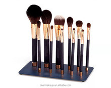 2017 New Arrival Magnetic Makeup Brush Set 11 Pcs Professional Cosmetic Brush
