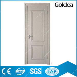 Goldea european design flush wooden interior roll up door