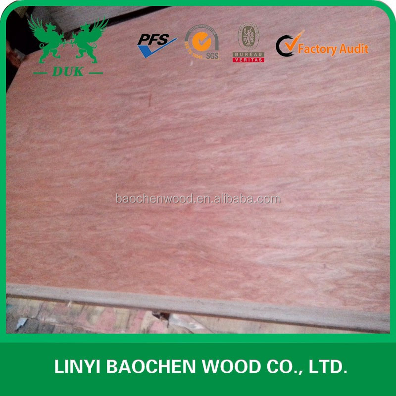 Exterior grade Construction Bintangor plywood at wholesale price