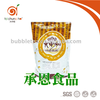 4002 2 in 1 Mung Bean Flavor Powder for Bubble Tea or Drinks