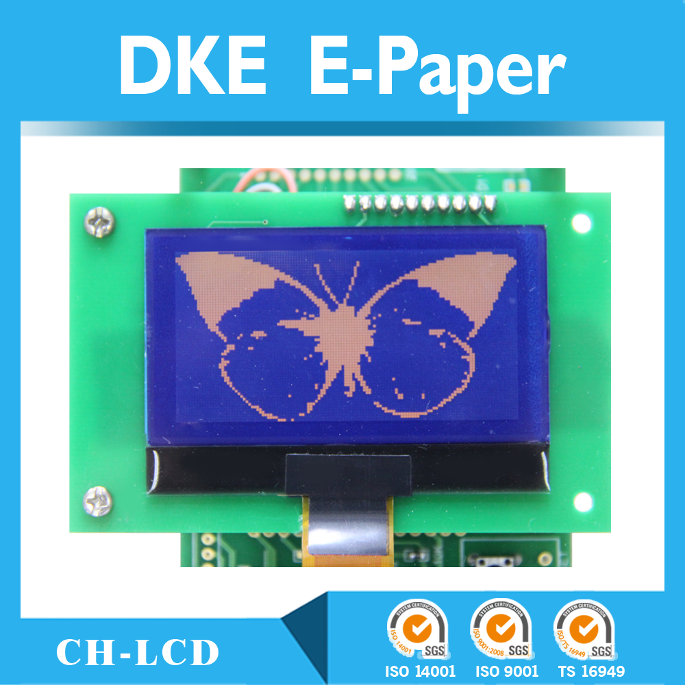 custom esl e-paper display for Electronic Shelf Label(ESL) CH-LCD,e-ink e-paper display,e-paper lable