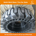 China Supplier bobcat solid tire 10-16.5 12-16.5