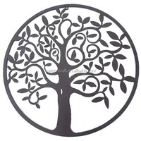 2015 New Metal Crafts Metal Wall Tree Of Life Decor Wall Hanging Sculptures Garden Art