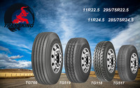 TRANSKING rubber truck tyre 295/75R22.5 11R22.5 11R24.5 285/75R24.5 for sale in America/South America market with DOT